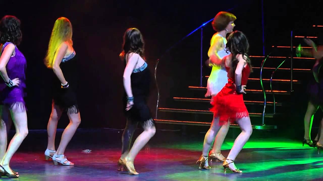 Летний отчетный концерт студи DIVA в Гигант-холле 08.06.2014 года. Видео Шоу - Латина.