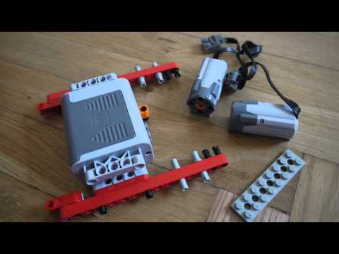 Jak zrobić prosty pojazd zdalnie sterowany z klocków LEGO TECHNIC? | Poradnik