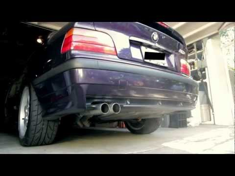 1999 BMW M3 with Straight Pipes