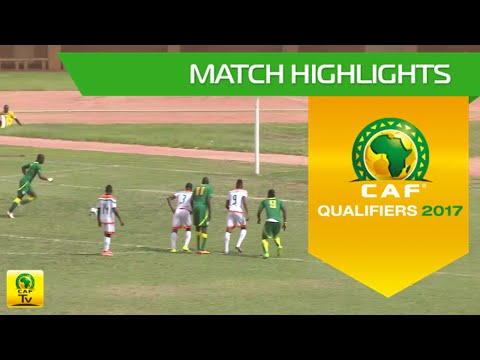 Niger vs Senegal   Africa Cup of Nations Qualifiers 2017