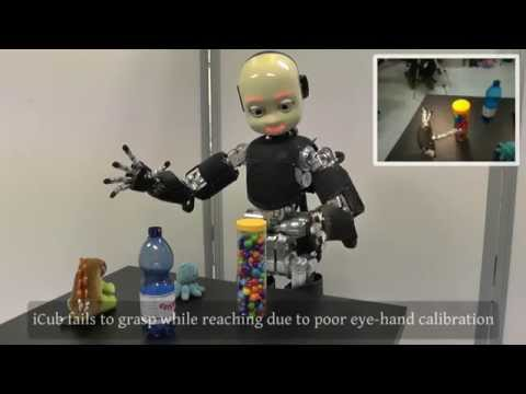 3D Stereo Estimation and Fully Automated Learning of Eye-Hand Coordination in Humanoid Robots