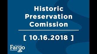 Historic Preservation Commission - 10.16.2018