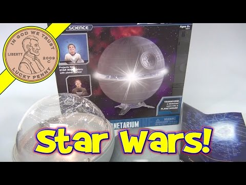 Star Wars Science, Death Star Planetarium Star Gazer System, 2011 Uncle Milton Toys