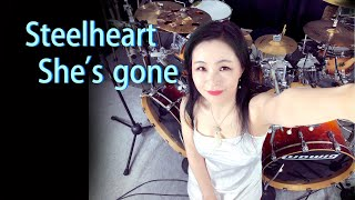 Steelheart - She's gone drum cover by Ami Kim(#104)