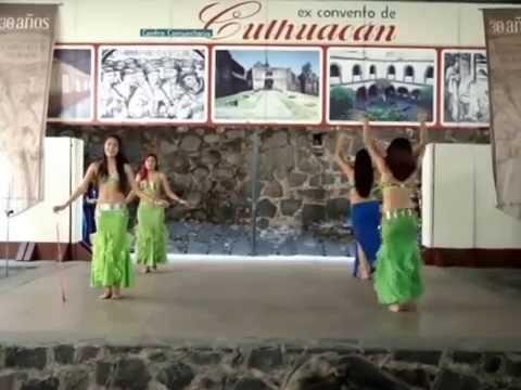 Danza Árabe en Culhuacán, Iztapalapa