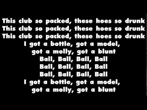 T.i. Ft. Lil' Wayne - Ball - Lyrics video