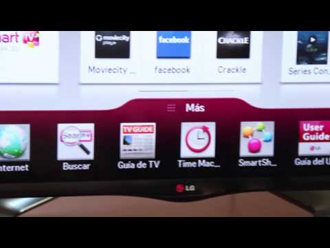 Review del LG Smart TV Cinema 3D LA6600