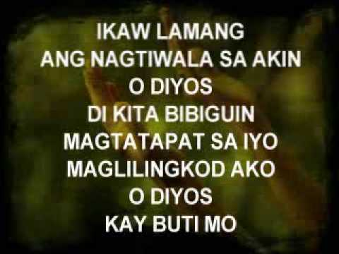 Ikaw Lamang - Christian Song video