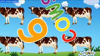 Preschool Learning Number And Counting with Animals For Kids