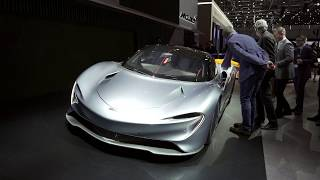 GIMS 2019 - NEW 2020 McLaren Speedtail