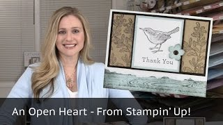 Five Cards - One Stamp Set Featuring Stampin' Up!