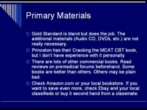MCAT Strategy - Home Study Guide
