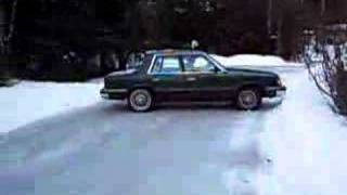 icy hill VS plymouth reliant