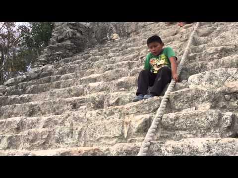 The Nohoch Mul Pyramid, Coba, Mexico