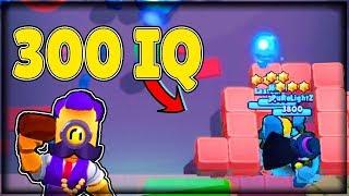 300 IQ Easy Win! Brawl Stars Funny Moments #25