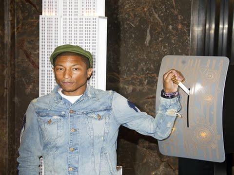 Pharrell Marks International Day of Happiness