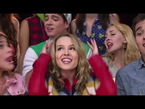 Violetta: Bridgit Mendler canta ¨Hurricane¨ con los chicos