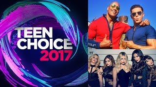 2017 Teen Choice Awards Announces Its First Wave Of Nominees