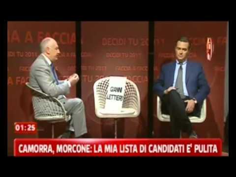 Morcone, confronto con la sedia vuota di Lettieri a skytg24