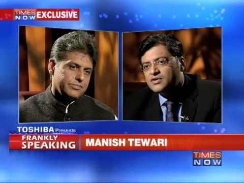 Frankly Speaking with Manish Tewari  (Part 3 of 3)