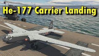 He-177 Carrier Landing