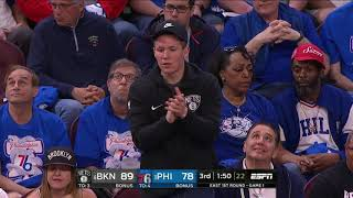 Jared Dudley All Actions Cut 04/13/2019 Brooklyn Nets vs Philadelphia 76ers