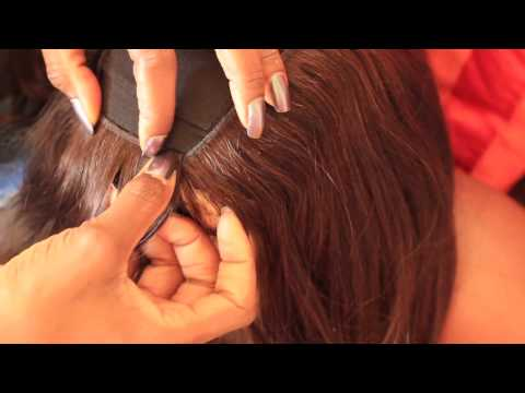 HOW TO : FLAWLESS INVISIBLE PART WIG