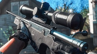 Accuracy International L96A1 MW3 SFX | Fallout 4 Mods Gameplay