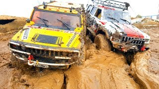 RC Cars Mud OFF Road Spring – Axial SCX10 ii   Jeep Cherokee, Hummer H2 — Extreme Pictures