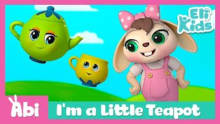 I'm a Little Teapot | Sing with Abi | Best song for kids