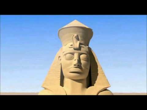 Мультфильм.Египетская пирамида.