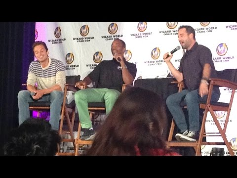 FULL PANEL - Sebastian Stan and Anthony Mackie @ WWCCC 8/24
