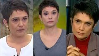 5 reações inesperadas de Sandra Annenberg no Jornal Hoje | 2011 - 2017