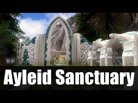 Skyrim Mods - Ayleid Sanctuary [4k/HD]