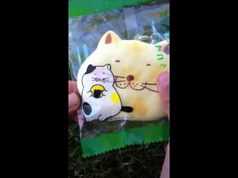 Squishy Sound Cat S Ear : Squishy Hello Kitty Rice Cracker Tutorial! With Cracking Sound