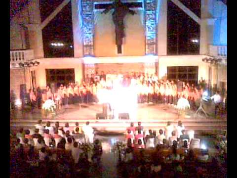 Hindi Kita Malilimutan - Basil Valdez with Bishop Tagle and the HTP Grand Choir