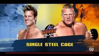 Sound Off Gamer - Brock Lesnar vs. Chris Jericho (WWE 2K16)