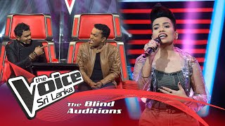 Adithya Wickrama Arachchi -  Kandy Lamissi Blind Auditions | The Voice Sri Lanka