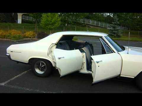 1969 Chevelle Malibu Sport Sedan White Black Youtube