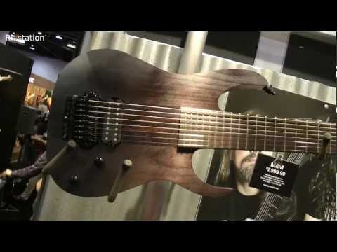 Chappers at NAMM 2013 - New Ibanez Guitars