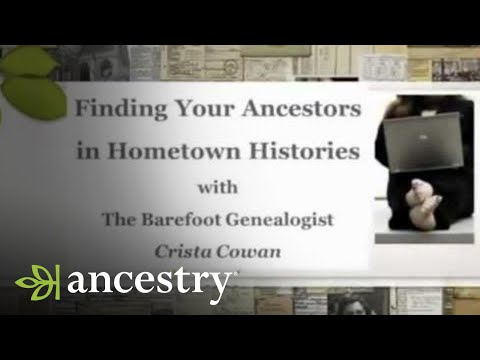 Find Your Ancestor in Hometown History