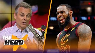 Colin Cowherd on LeBron's future in the NBA if the Cavs lose Game 4 to Boston | NBA | THE HERD