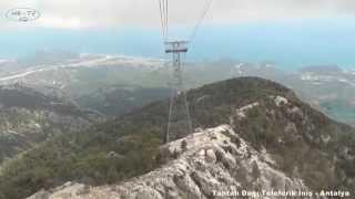 Tahtalı Dağı Teleferik İniş - Antalya