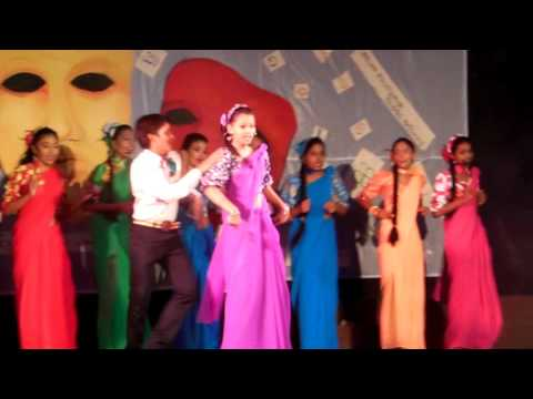 70s film songs item by the students of OKI international school