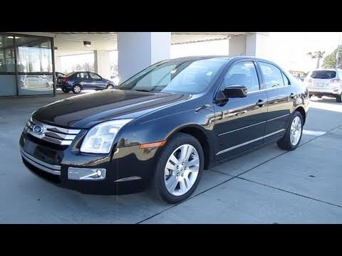 2007 ford fusion sel start up engine and in depth tour. Black Bedroom Furniture Sets. Home Design Ideas