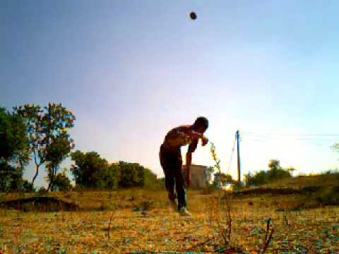 Me Trying Brett Lee Bowling Action video