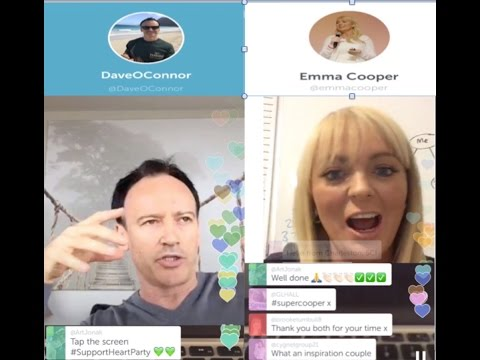 MLM Mindset Expert Dave O'Connor interviews Emma Cooper on Periscope