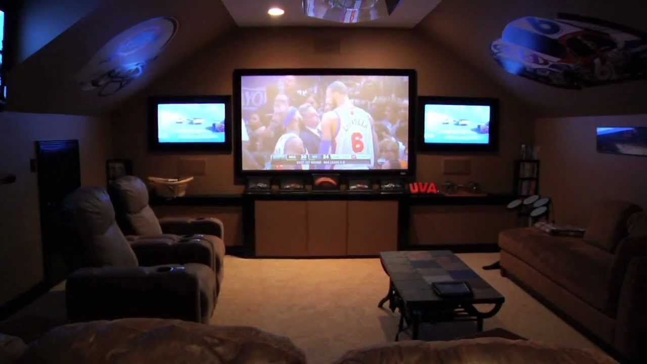 attic man cave ideas - Eat It and Like It Man Caves