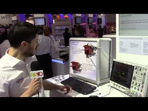 Infineon describes their latest digital power conversion tech at embedded world