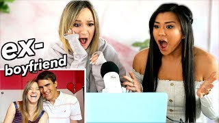 Best Friend Reacts to My EX-BOYFRIEND Tag! *deleted video*